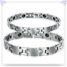 Pulsera magnética de joyería de acero inoxidable para joyería de moda (HR299)