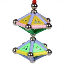 Vara magnética DIY brinquedos crianças blocos 500pcS
