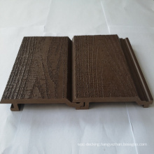Decorative outdoor WPC wall panel for wholesale,super embossed wall cladding