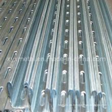 Unistrut Strut Slotted Strukturelle Stahlprofile Channel Framing