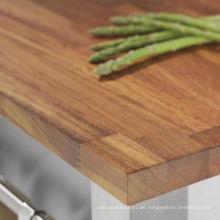 Iroko Holz Finger Joint Board für Möbel
