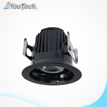 interior cálido blanco 9w led downlight