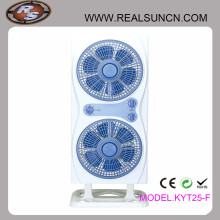 Twins Box Fans with Two Box Fan Working But One Stand