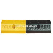 500x150x100mm four holes rubber wheel stopper