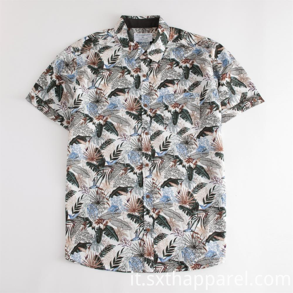 100% Cotton Short Sleeve Regular Shirt