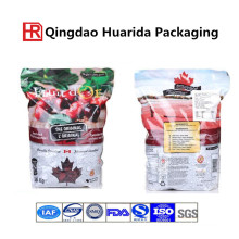Stand up Heath Fruit Food Packaging Bag with Zipper