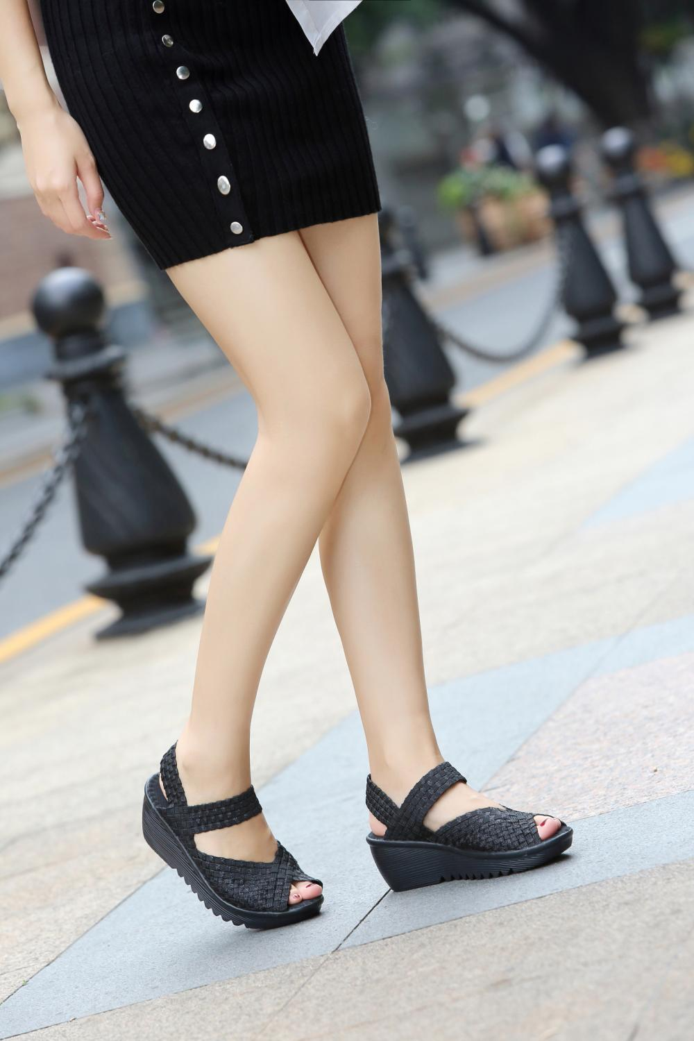 Fashion Girl Woven Sandal