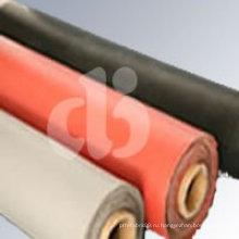 Ткань с красным силиконовым покрытием