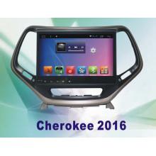 GPS del coche del sistema del androide GPS del coche para Cherokee 10.2 pulgadas con la navegación Bluetooth