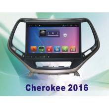 Sistema do Android Car GPS carro para Cherokee 10,2 polegadas com navegação Bluetooth