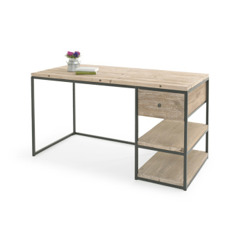 Hot op Amazon Modern Simple Design Computertafel met boekenplank