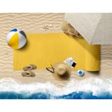OEM Custom Print High Quality Soft Sand Free Travel Camping Microfiber Custom Beach Towel