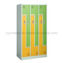Mobilier scolaire Armoire métallique avec 2 portes en forme de Z à vendre