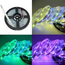 hot sale LED Light Strip Lights 3.2ft WS2812 1m PCB White Individually Addressable Led Strip 30 Pixel