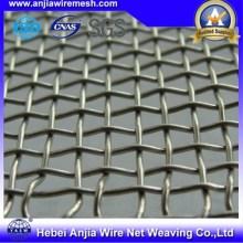 Malla de alambre cuadrada galvanizada caliente-doblada con Ce para la construcción