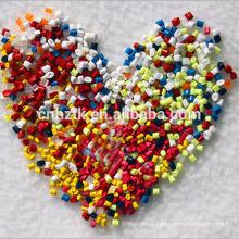 Multi color mix antimicrobial plastic filler masterbatch