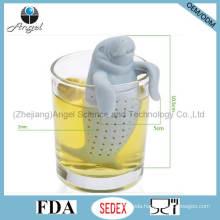 Popular FDA Manatee Silicone Tea Strainer Tool St08
