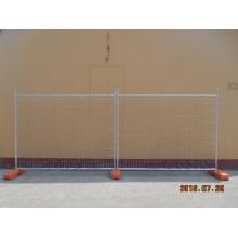 Clôture temporaire en acier galvanisé pour bâtiment de construction