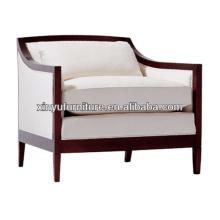 Modern solid wood arm hotel arm chair XY0939