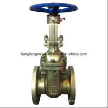 API Gate Valve Flange End with Stainless Steel RF