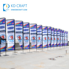 High quality custom fabric full color printed bangkok thailand outdoor flying banners with own logo
