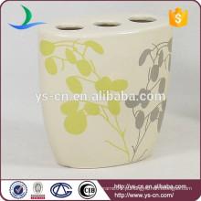 YSb40101-02-th Porta-escova de cerâmica bege para hotel