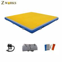 Custom design inflatable water mat air mat air floating