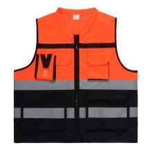 Gilet de sécurité tricot multifonctionnel de vente chaude