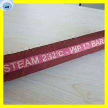 Manguera de vapor resistente al calor Manguera de caucho alambre de cobre