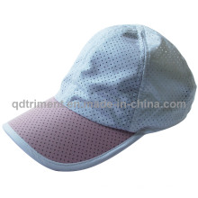 Capa deportiva de poliéster respirable de tela de poliéster (TRRC001)