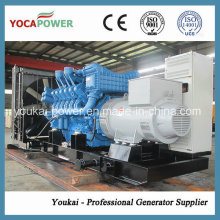 Mtu1000kw / 1250kVA Grupo electrógeno diesel pesado