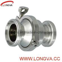 Гигиенический обратный клапан 316L