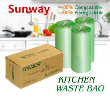 Biodegradabel Kitchen Garbage Bags