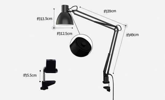 Clip On Desk Lamp For Bedroom