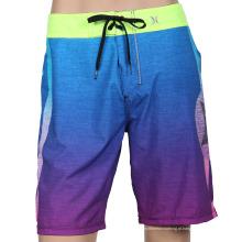 Sublimação mens bordo shorts praia surf calças surf shorts