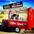 Remolque de camión de comida móvil para café