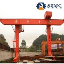 Single Gantry Crane with Electrical Trolley Winch Standard Model