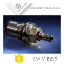EM-V-B059 Fast Open good quality brass cartridges for faucets ceramic disc blue rubber gasket