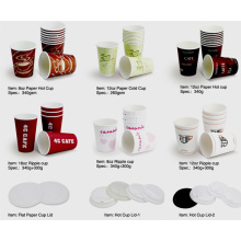 Paper Cups/Cold Cup/Hot Cup/Ripple Cup