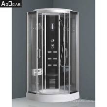 Aokeliya Massage Steam Shower Cubicle and Cabin with Tempered Glass Doors