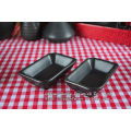 Tableware set matt black