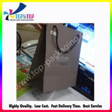 Kraft Paper Material Sac de shopping de haute qualité