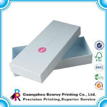 Подгонянный Цветастый синий картонная коробка крышка дисплея оптом