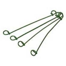 "12"" Double Loop Tie Wire / PVC-Coated Wire Ties"
