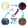 Una parada BLE inteligente inalámbrico inteligente juguete sexual ODM y OEM, teléfono inteligente APP controlado mujeres juguete sexual módulo Bluetooth PCB diseño de la placa
