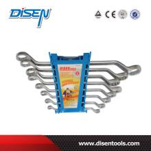 8PCS Blue Plastic Clip Double Offset Ring Wrench Set