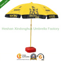 2.2m Custom Logo Printed Beach Umbrellas Sun Parasol (BU-0048)