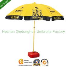2.2m logotipo personalizado impresso guarda-chuvas de praia Sun Parasol (BU-0048)