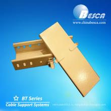 Порошковым покрытием желтого trunking кабеля