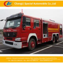 Caminhão da luta contra o incêndio do tanque de água de HOWO 6X4 16-20cbm